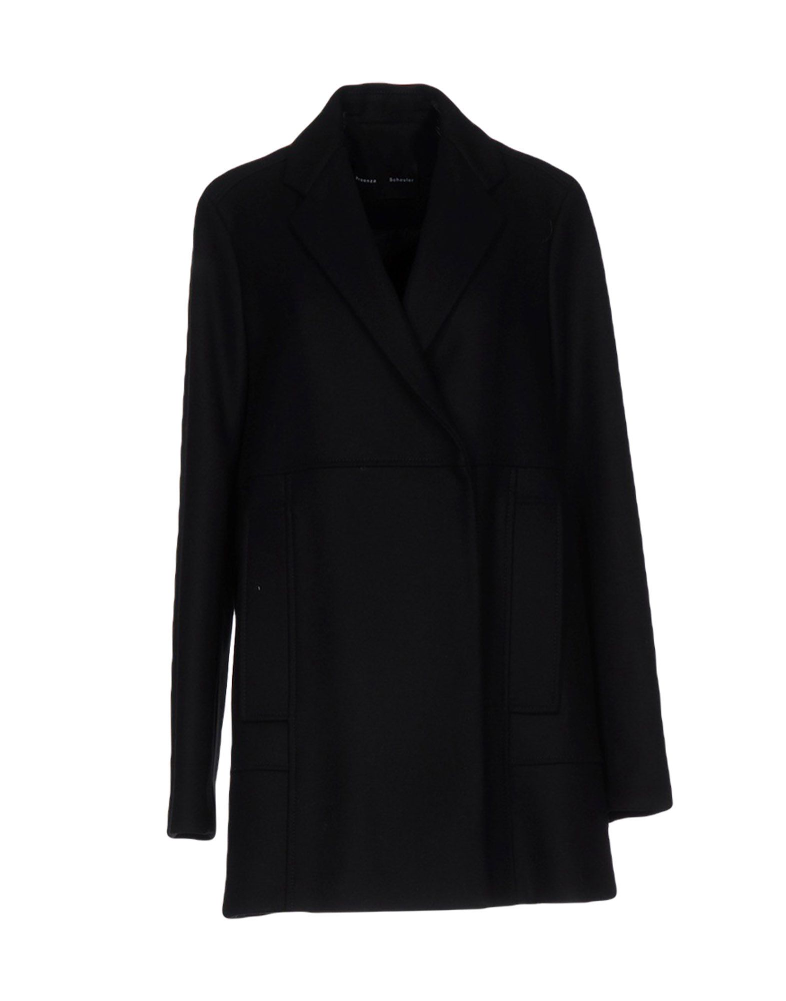 PROENZA SCHOULER Пальто пальто зима кожаные рукава цена