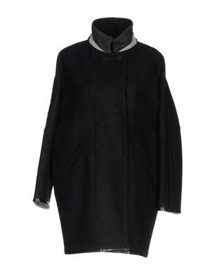 MOORER Damen Mantel Farbe Schwarz Größe 5 Sale Angebote