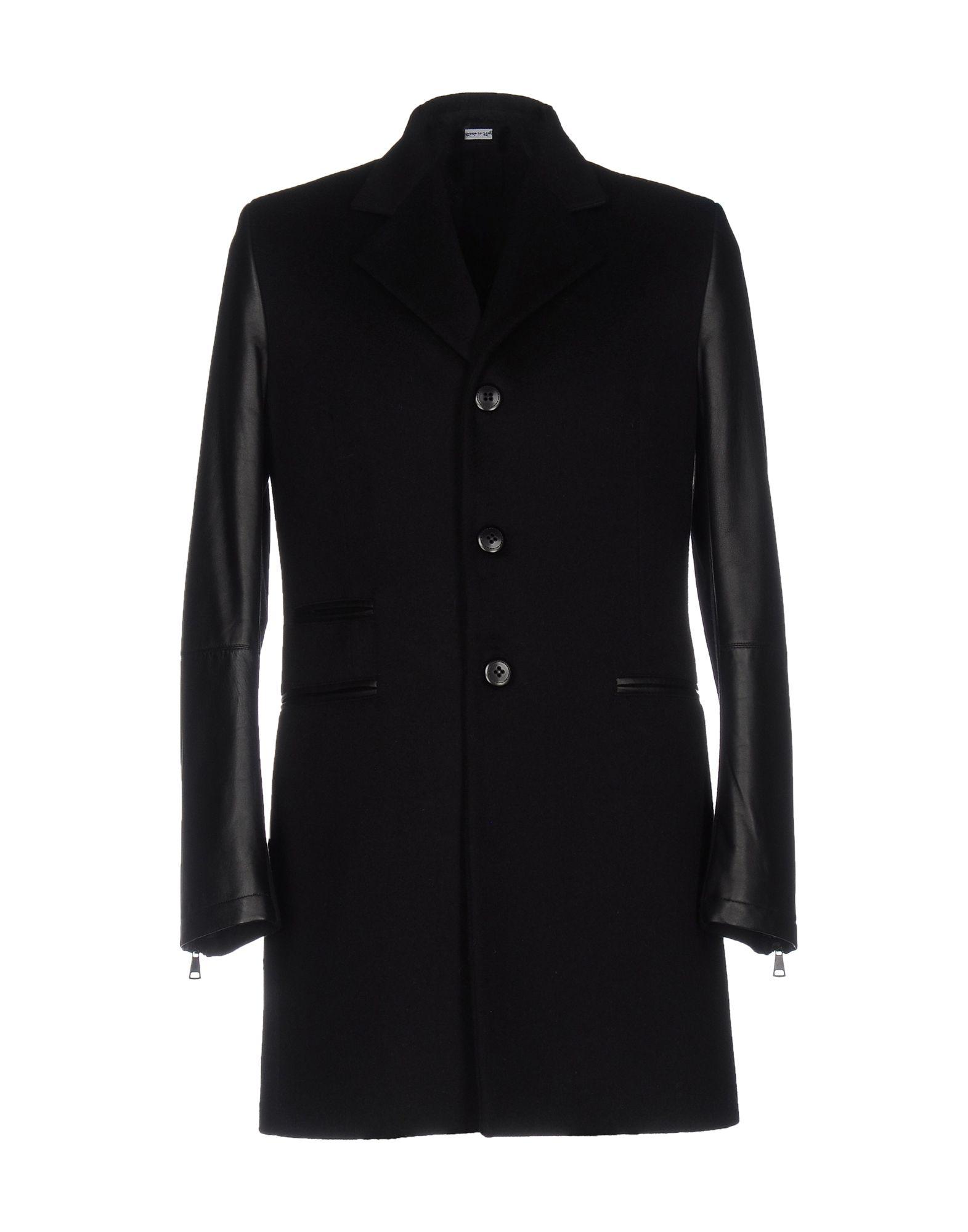 YOON Пальто пальто зима кожаные рукава цена
