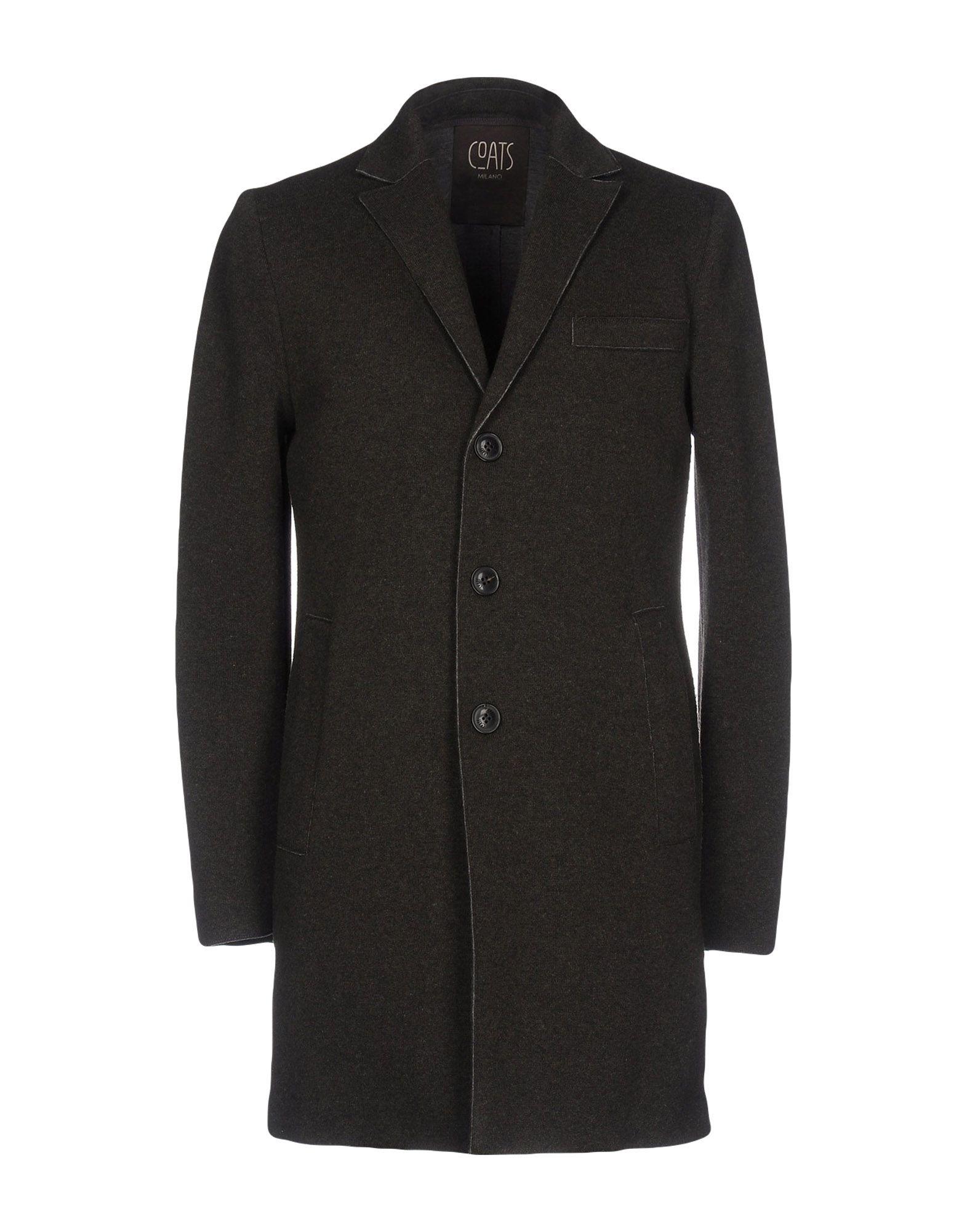 COATS Milano メンズ コート ミリタリーグリーン 50 レーヨン 42% / バージンウール 40% / ナイロン 14% / ポリウレタン 3% / 指定外繊維 1%
