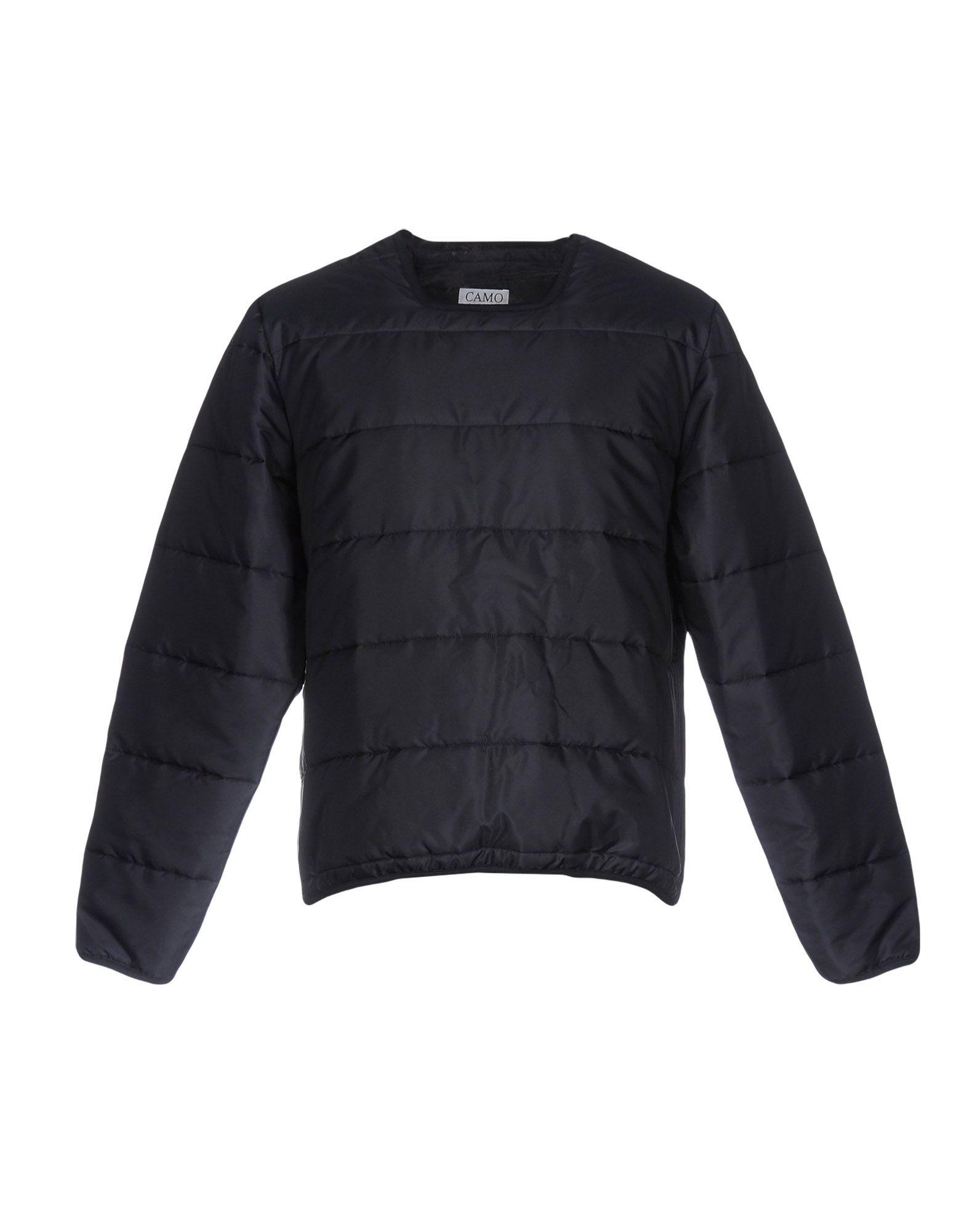 CAMO Куртка camo insert faux fur trim denim jacket