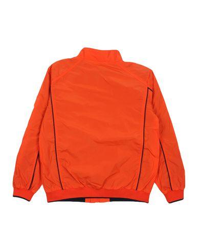 ARMANI JUNIOR Jungen Jacke Orange Größe 10 100% Polyester Baumwolle Elastan