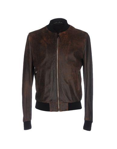 Фото - Мужскую куртку  коричневого цвета