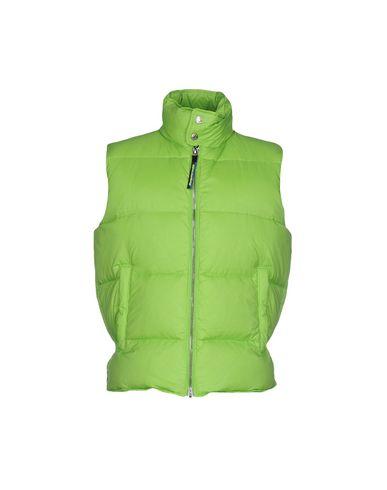 Фото - Мужской пуховик  кислотно-зеленого цвета