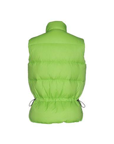 Фото 2 - Мужской пуховик  кислотно-зеленого цвета