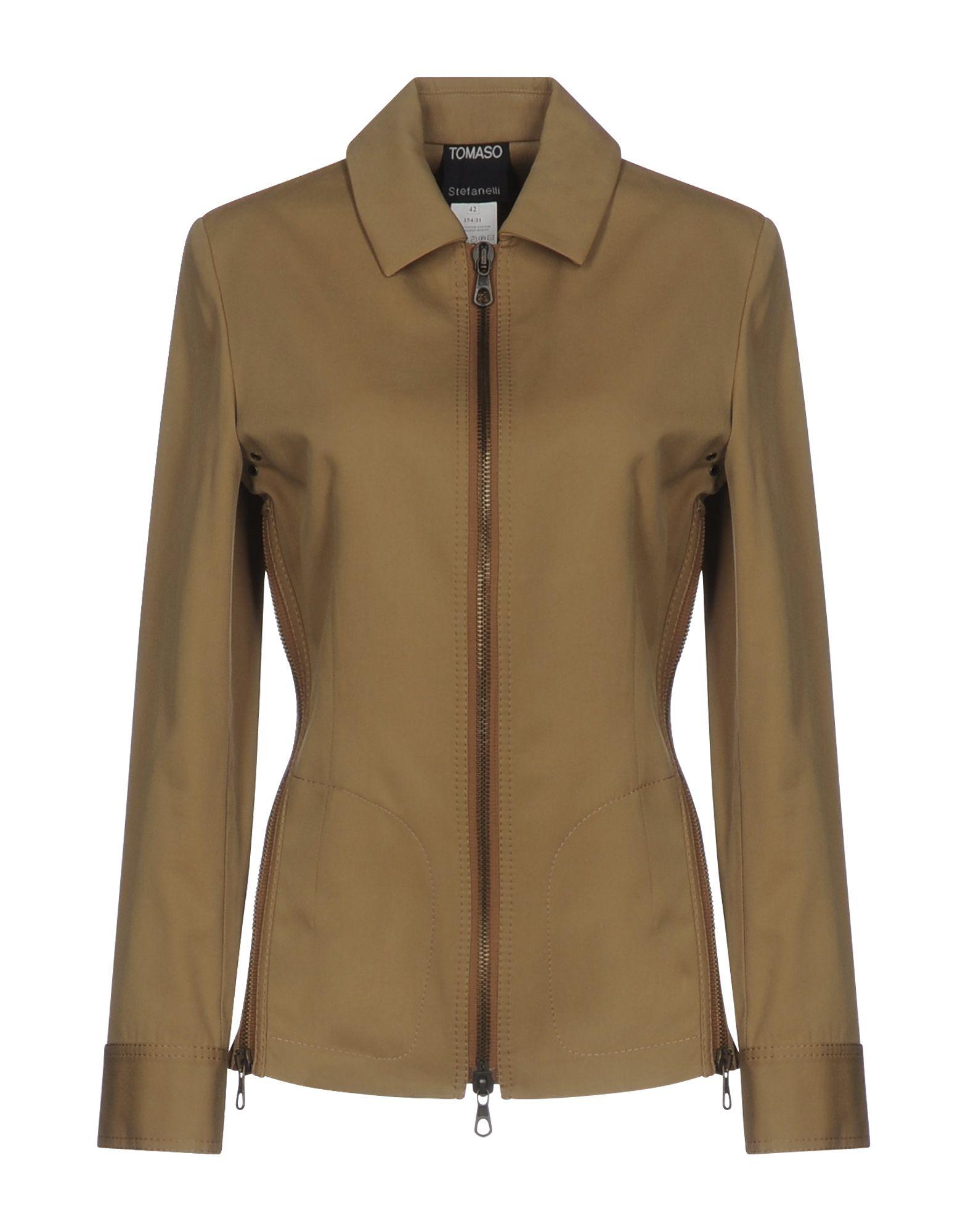 TOMASO STEFANELLI Куртка tomaso куртка
