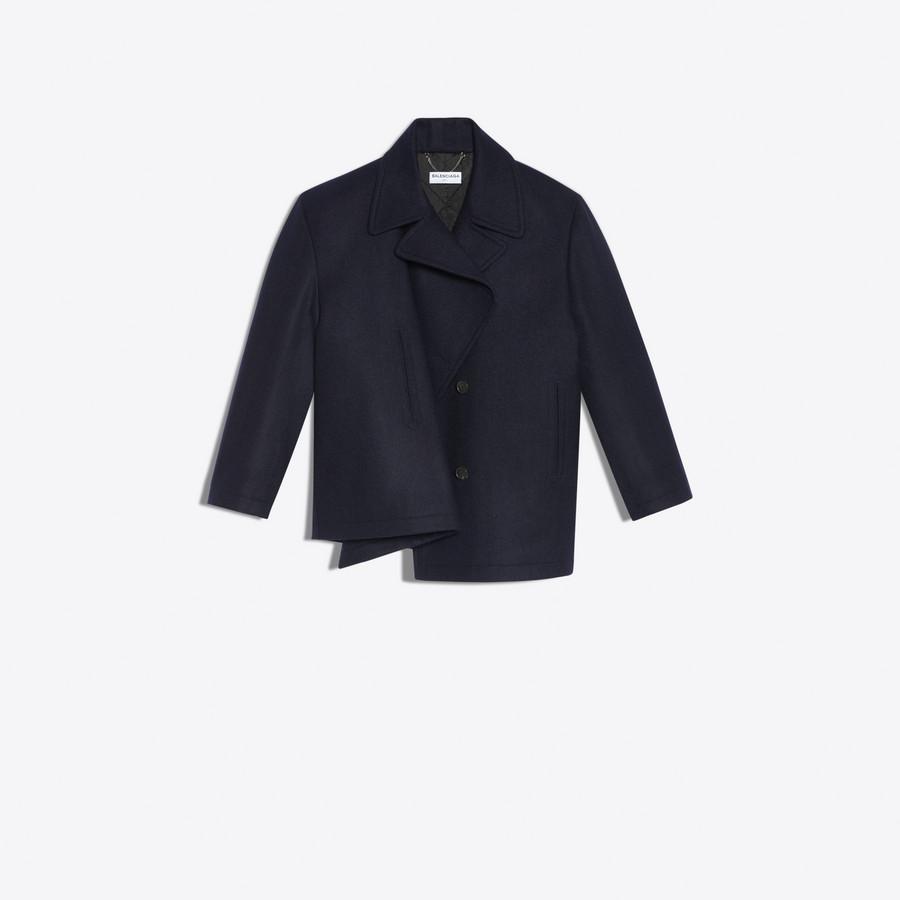BALENCIAGA Pulled Caban Coats D d