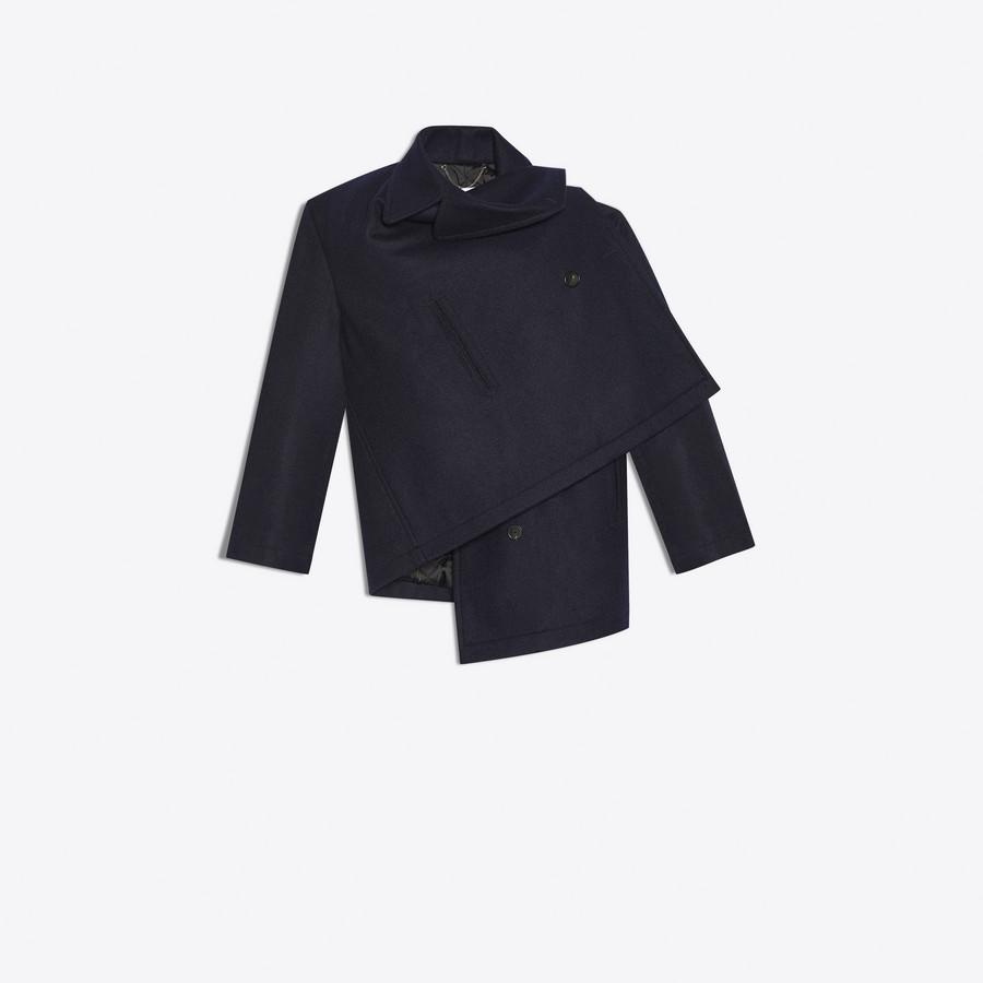 BALENCIAGA Pulled Caban Coats D f