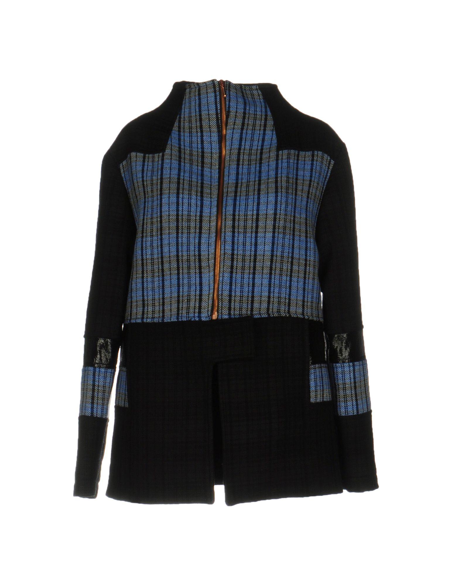 PAOLO ERRICO Coats in Black