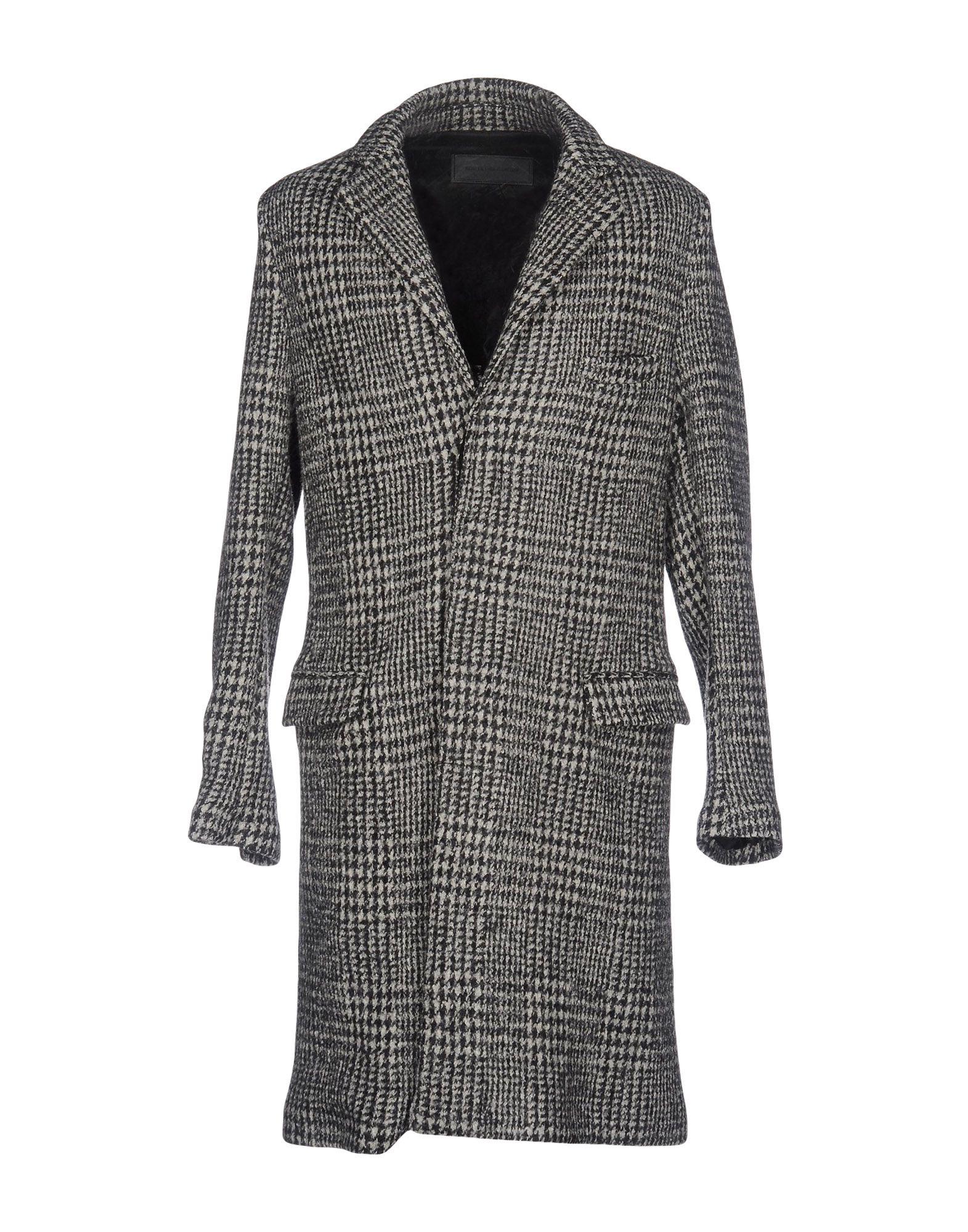《セール開催中》ROUTE des GARDEN メンズ コート グレー 46 ウール 100%