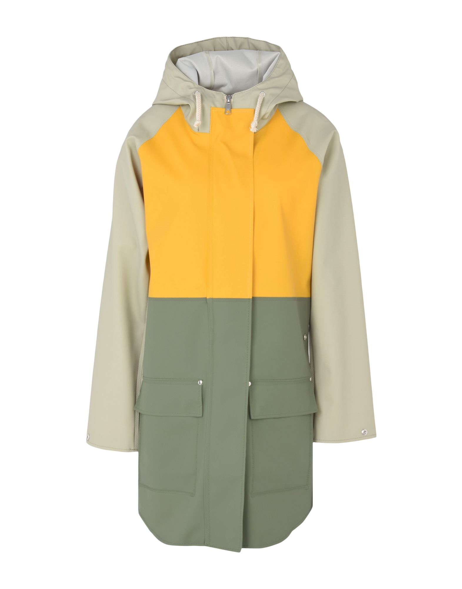 ELKA Full-Length Jacket in Yellow