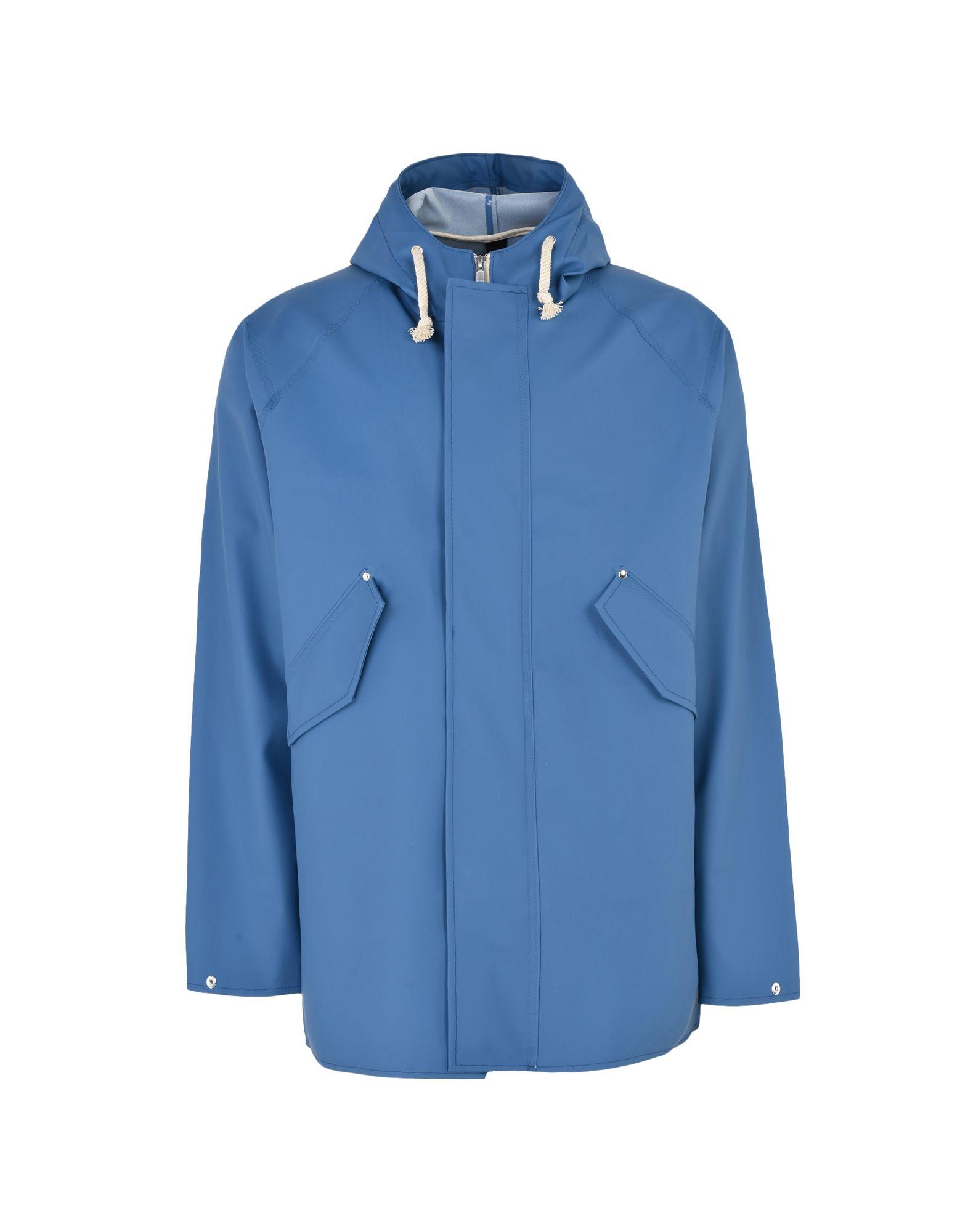 ELKA Full-Length Jacket in Slate Blue