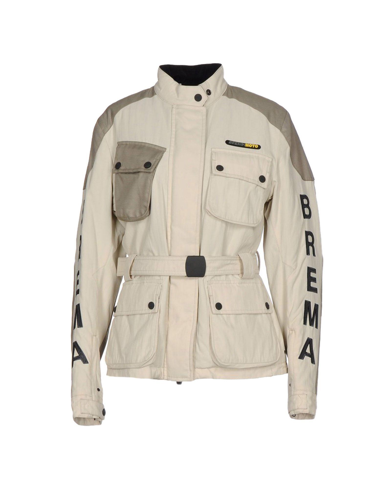 《送料無料》BREMA レディース ブルゾン ベージュ 42 ナイロン 100% / ケブラー