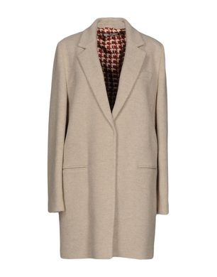 CIRCOLO 1901 Damen Mantel Farbe Beige Größe 7 Sale Angebote Klein Döbbern
