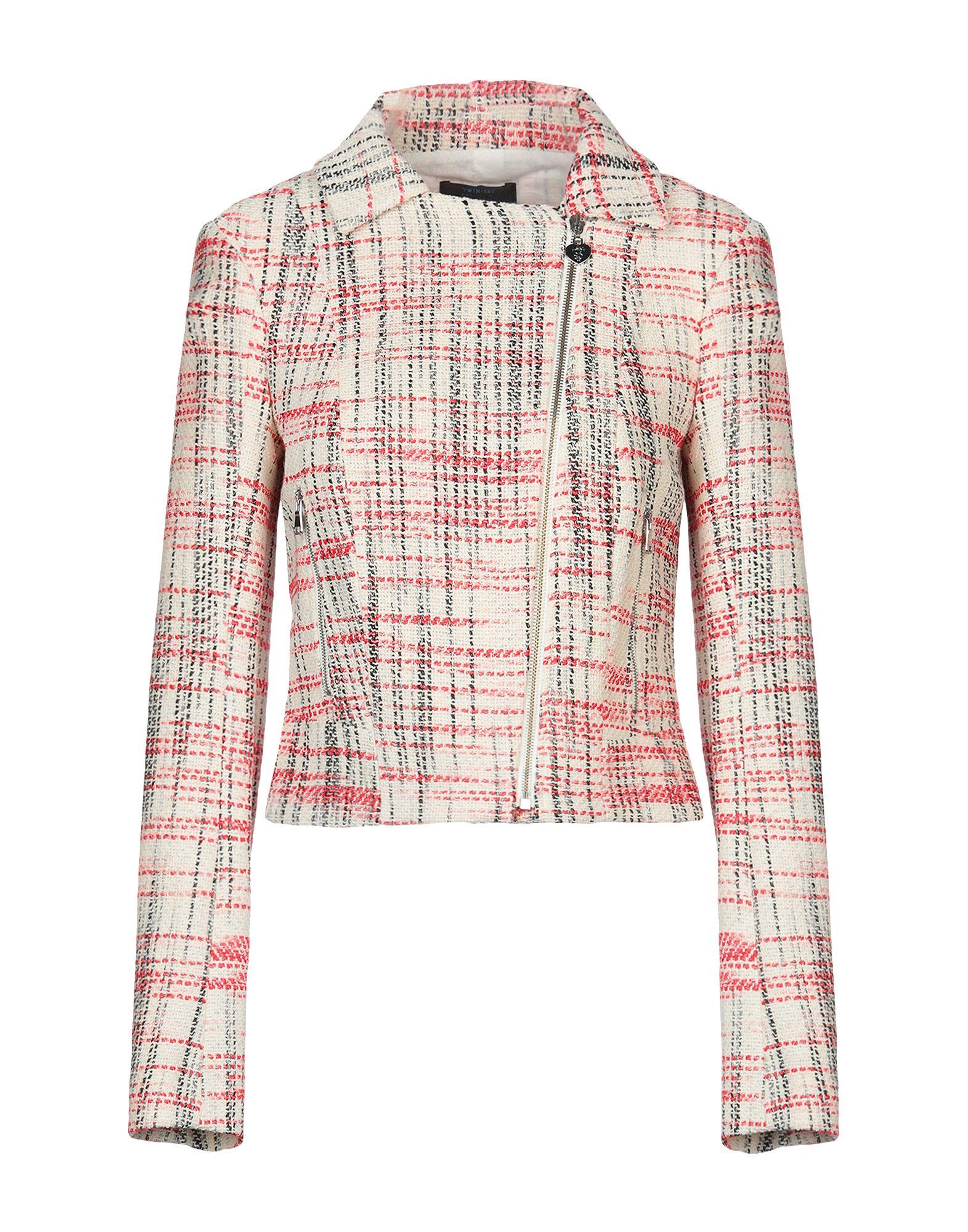 цена TWIN-SET JEANS Куртка онлайн в 2017 году