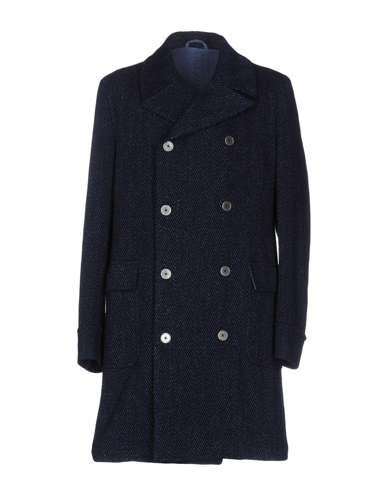 JOHN SHEEP Пальто полуприлегающее пальто с натуральным мехом visconf
