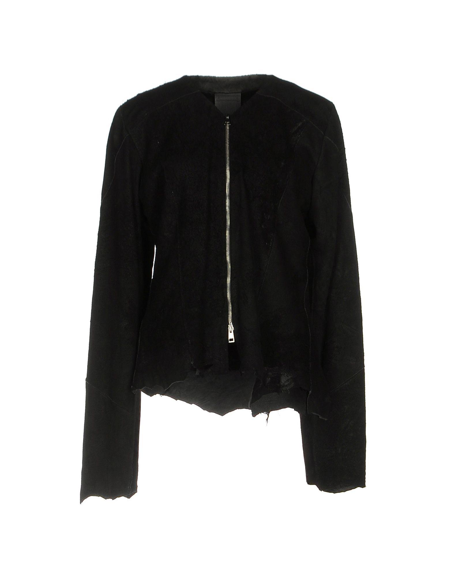 GIOCASTA Jackets in Black