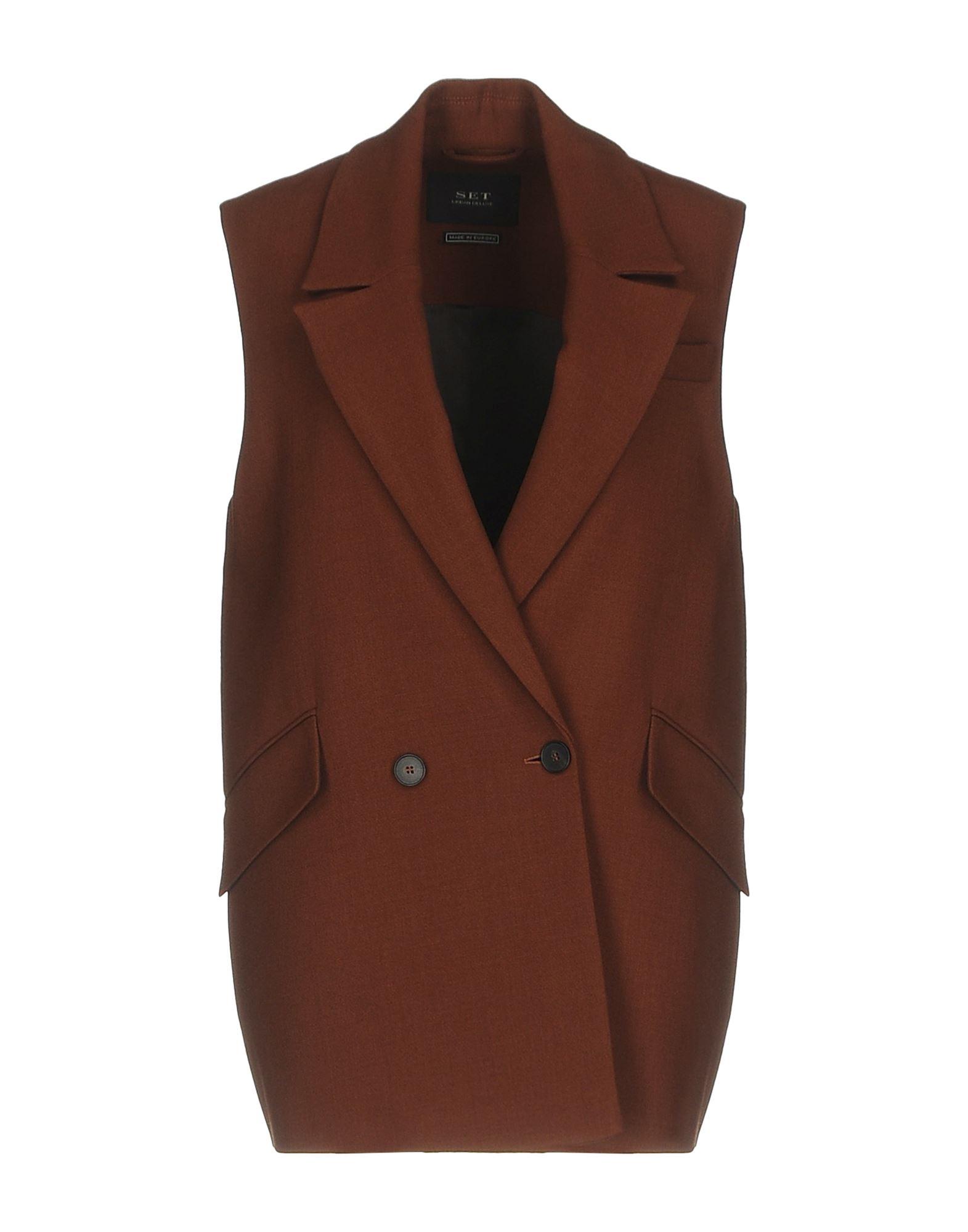 SET Blazer in Brown