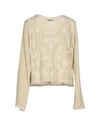 Фото 2 - Женский пиджак TWINSET бежевого цвета