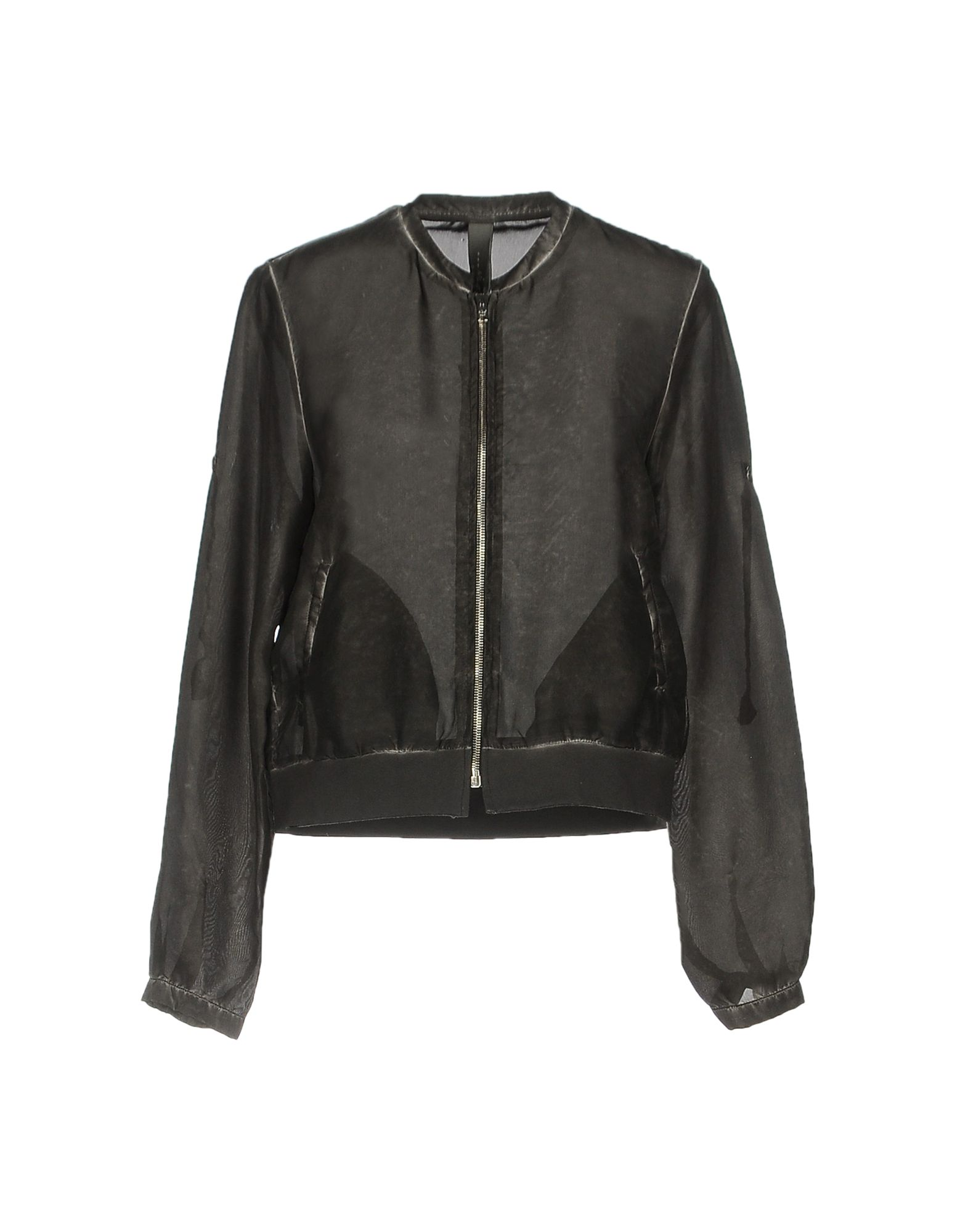 WLG BY GIORGIO BRATO Bomber in Steel Grey