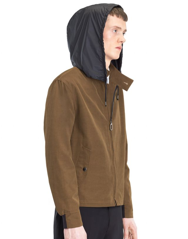 LANVIN HOODED WINDBREAKER Outerwear U a