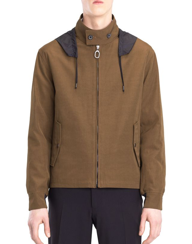 LANVIN HOODED WINDBREAKER Outerwear U f