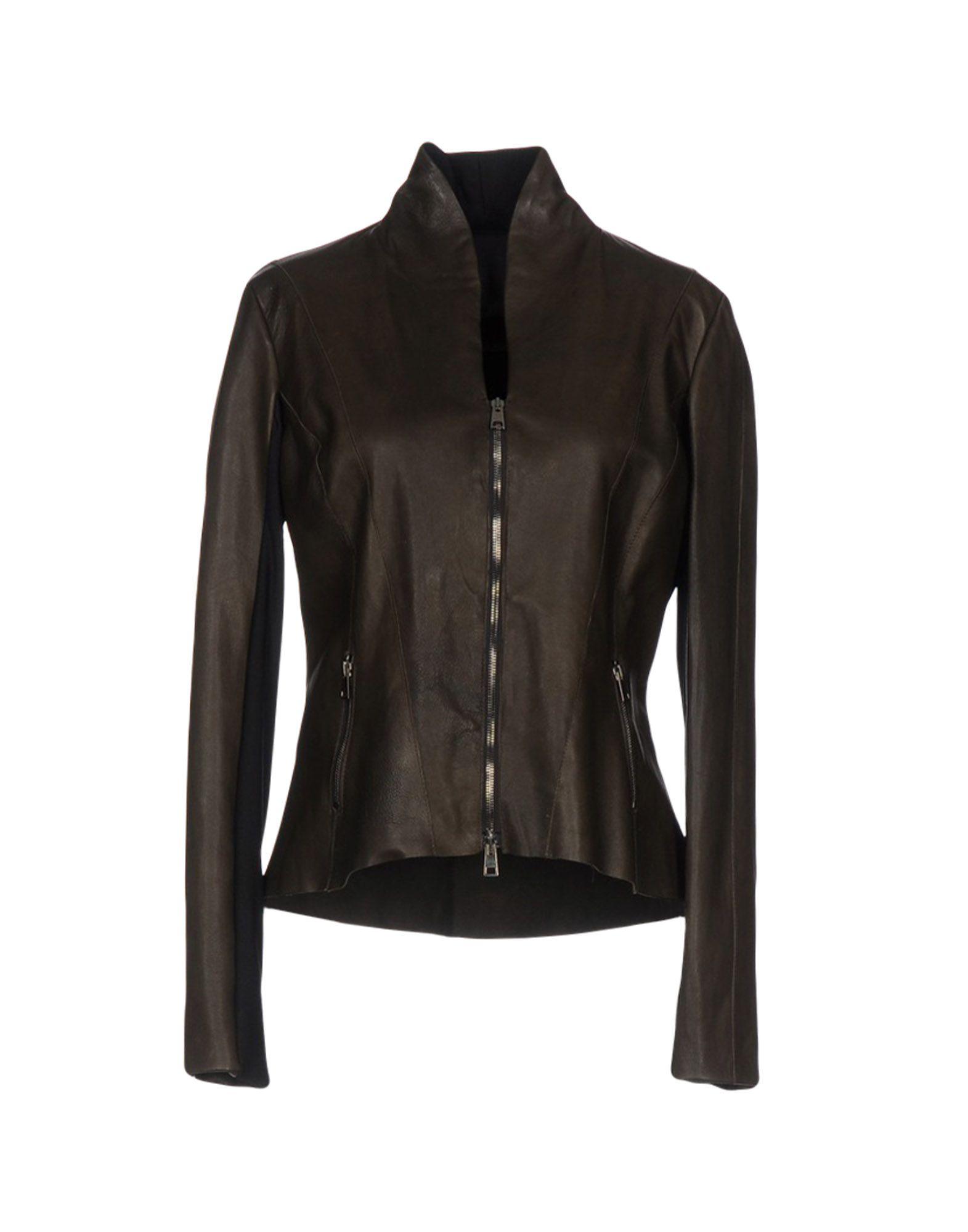 GIOCASTA Jackets in Khaki
