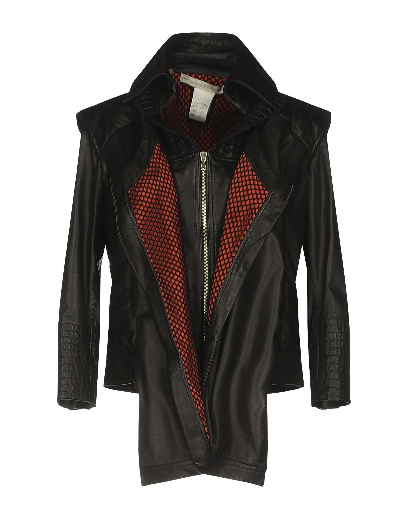 FRANCESCO SCOGNAMIGLIO Куртка недорго, оригинальная цена