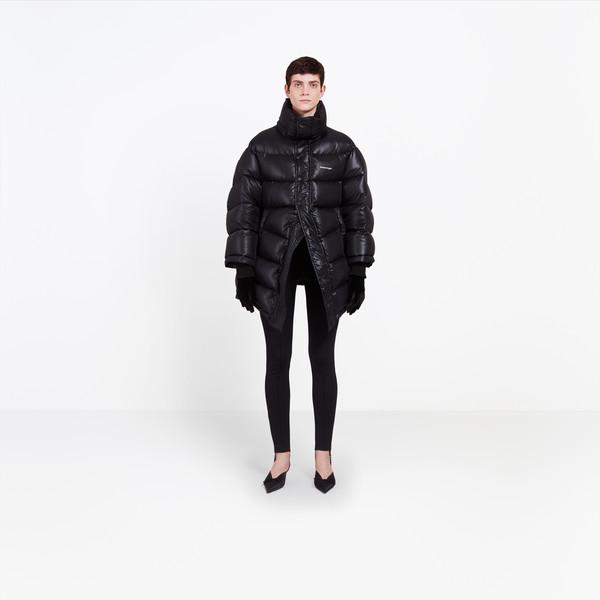 BALENCIAGA Coats Woman Outspace Puffer Jacket g