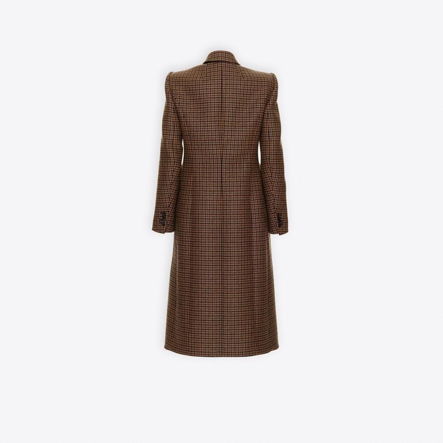 BALENCIAGA Hourglass Double Breasted Coat Coats D d