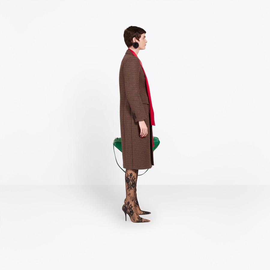 BALENCIAGA Hourglass Double Breasted Coat Coats D i