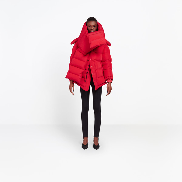 BALENCIAGA Coats D Swing Puffer Jacket g