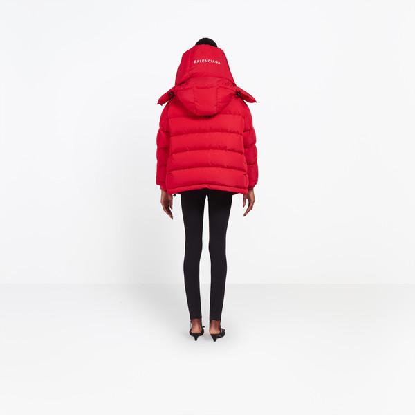 BALENCIAGA Coats D Swing Puffer Jacket h