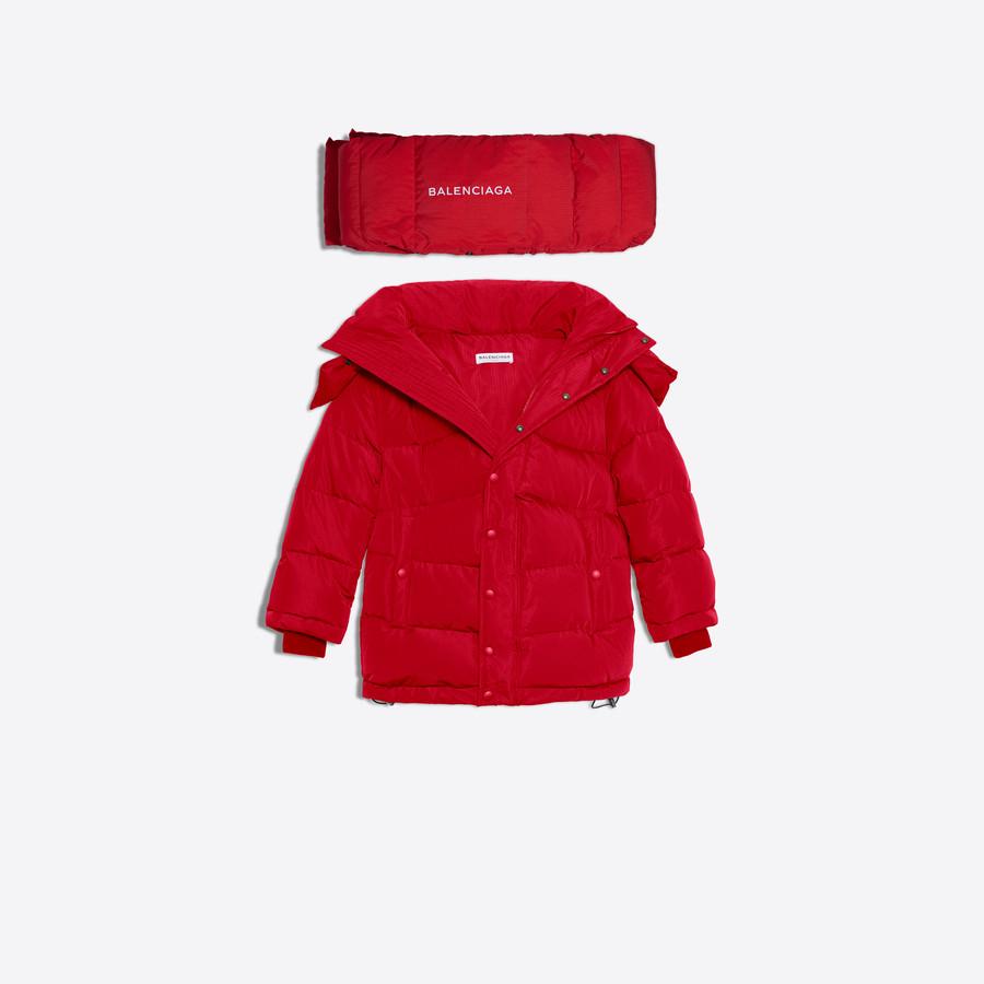 BALENCIAGA Swing Puffer Jacket Coats D f