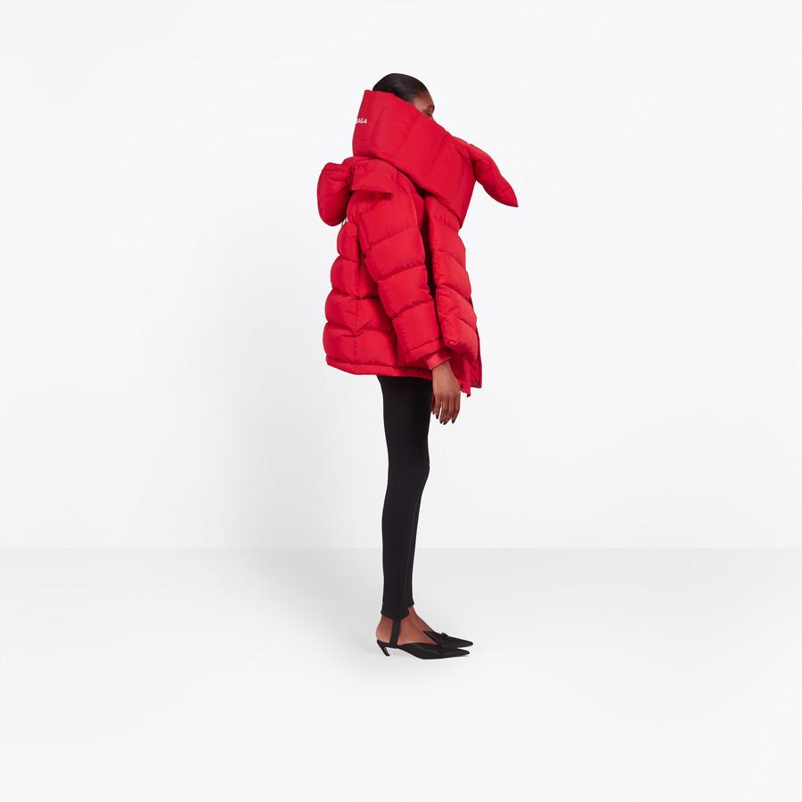 BALENCIAGA Swing Puffer Jacket Coats D i