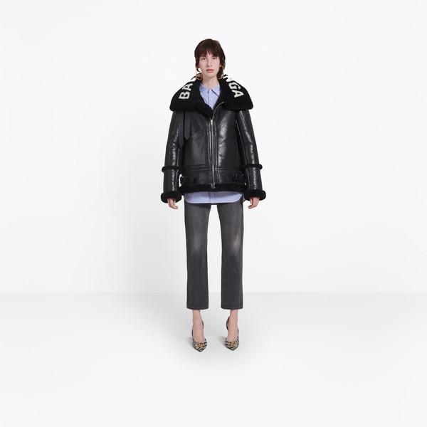 BALENCIAGA Coats Woman The Bombardier g
