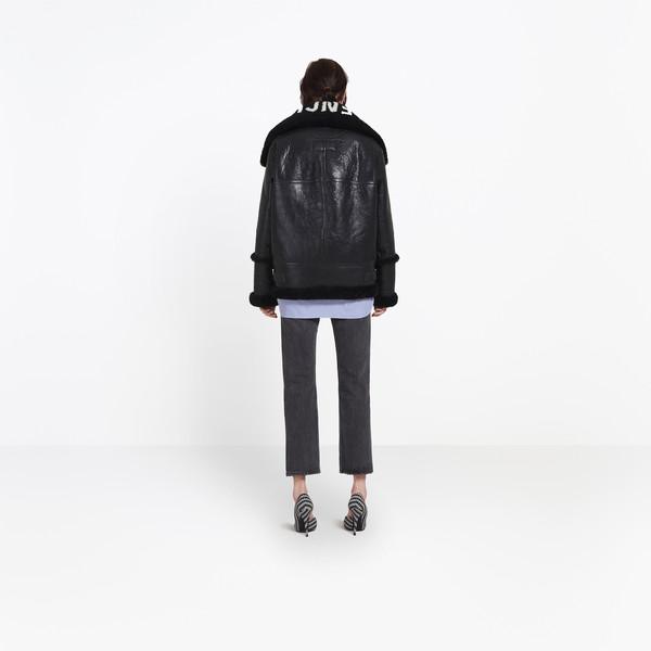 BALENCIAGA Coats Woman The Bombardier h