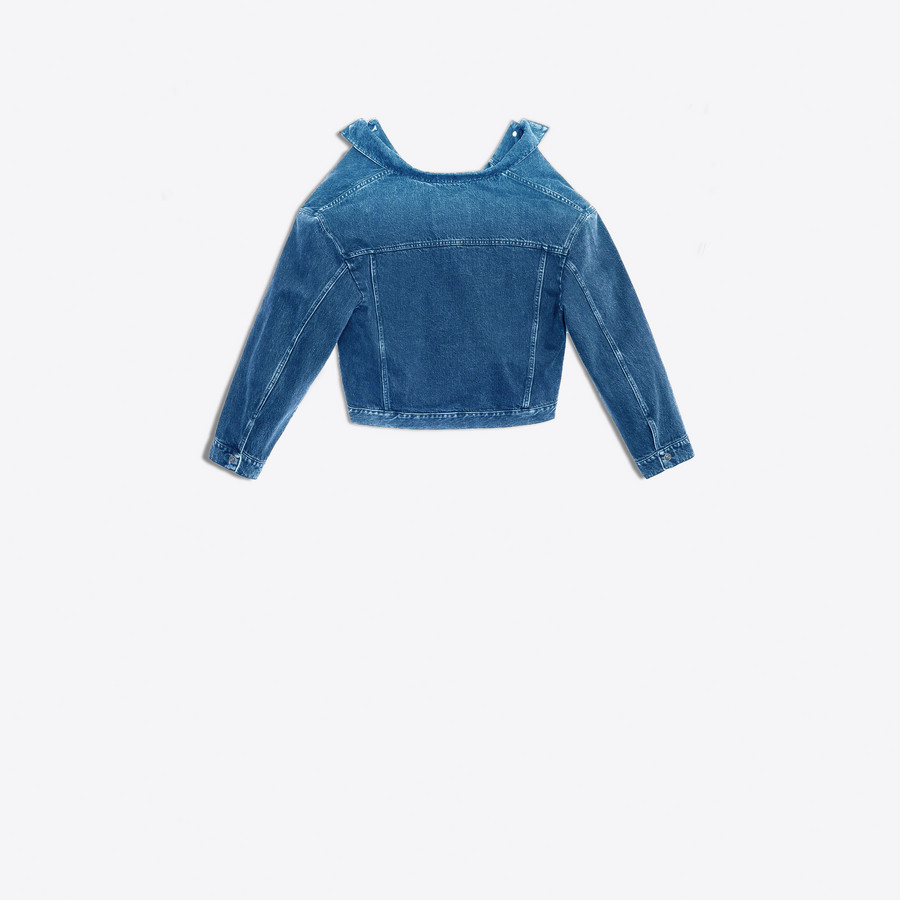 BALENCIAGA Swing Denim Jacket Denim Woman d