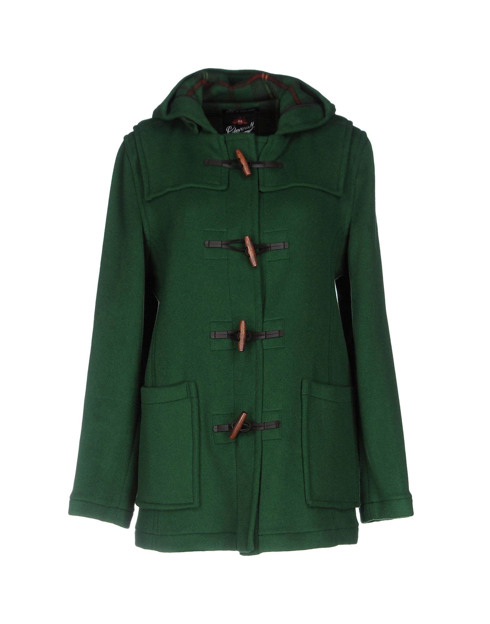GLOVERALL Coat in Green