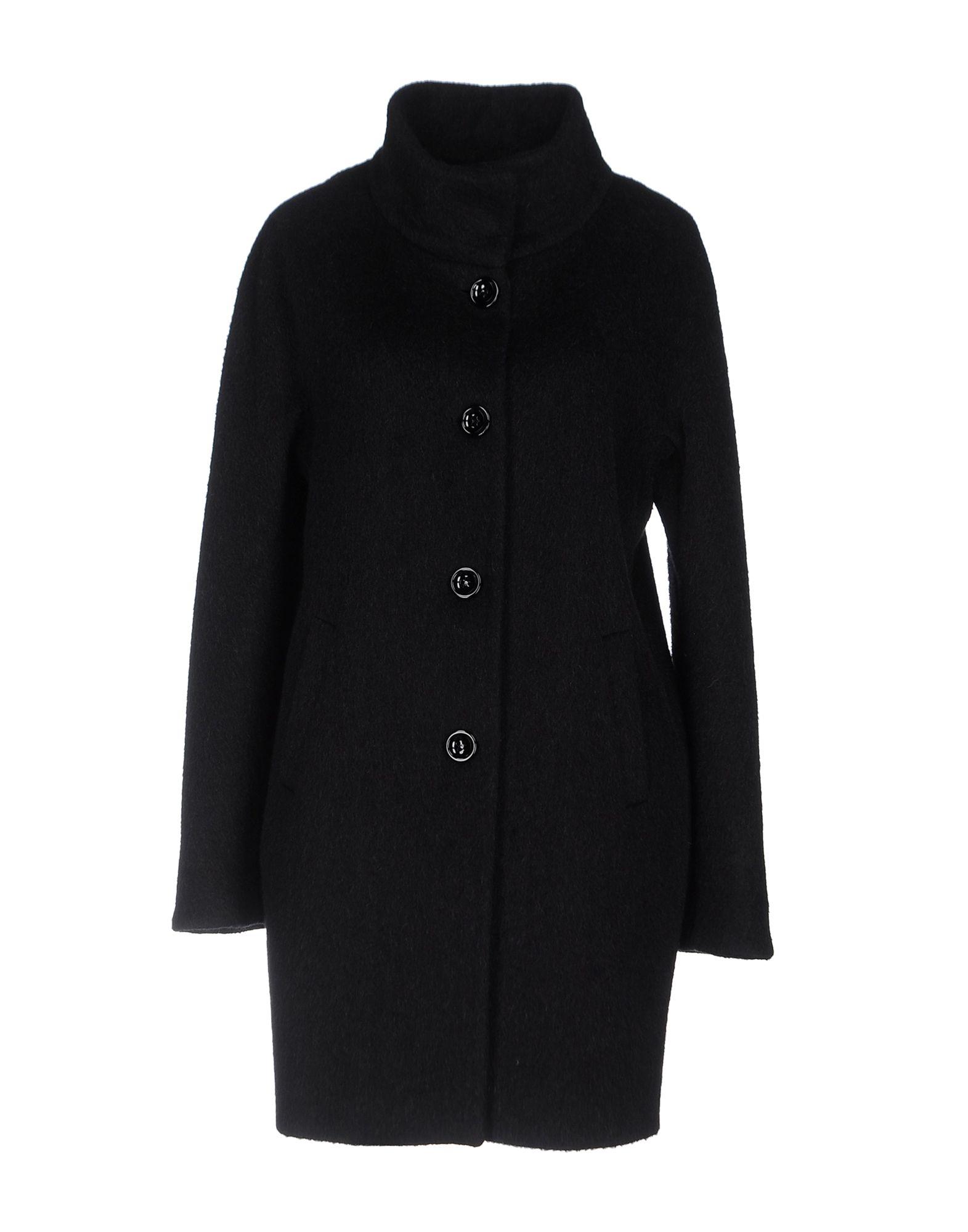 CHANOT Damen Mantel Farbe Schwarz Größe 7 - broschei