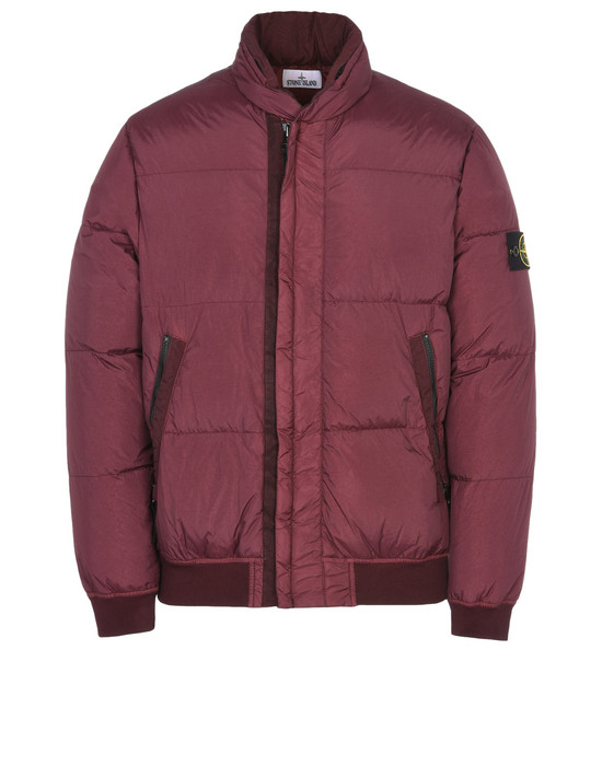 STONE ISLAND Mid-length jacket 40423 GARMENT DYED CRINKLE REPS NY DOWN