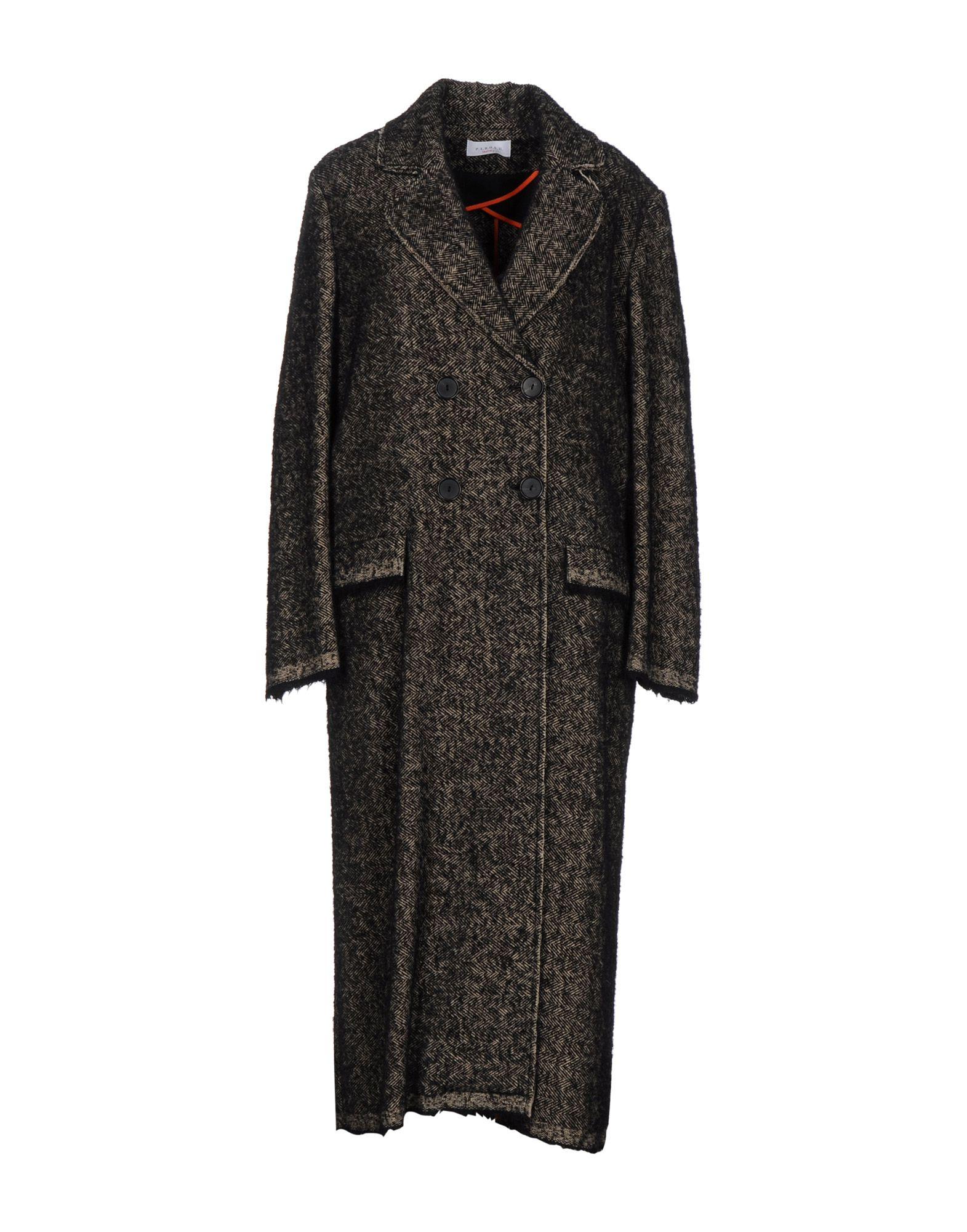 P.A.R.O.S.H. Damen Mantel Farbe Schwarz Größe 5 - broschei