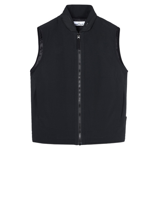 STONE ISLAND Waistcoat G0327 SOFT SHELL-R WITH PRIMALOFT® INSULATION TECHNOLOGY