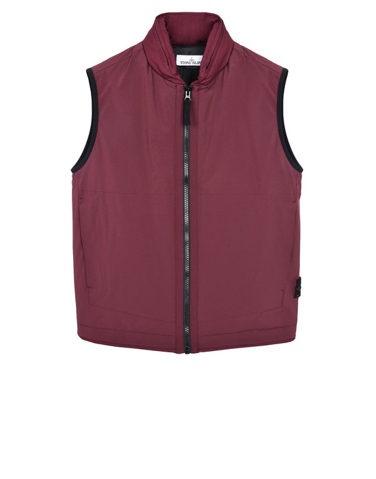 STONE ISLAND Vest G0327 SOFT SHELL-R WITH PRIMALOFT® INSULATION TECHNOLOGY