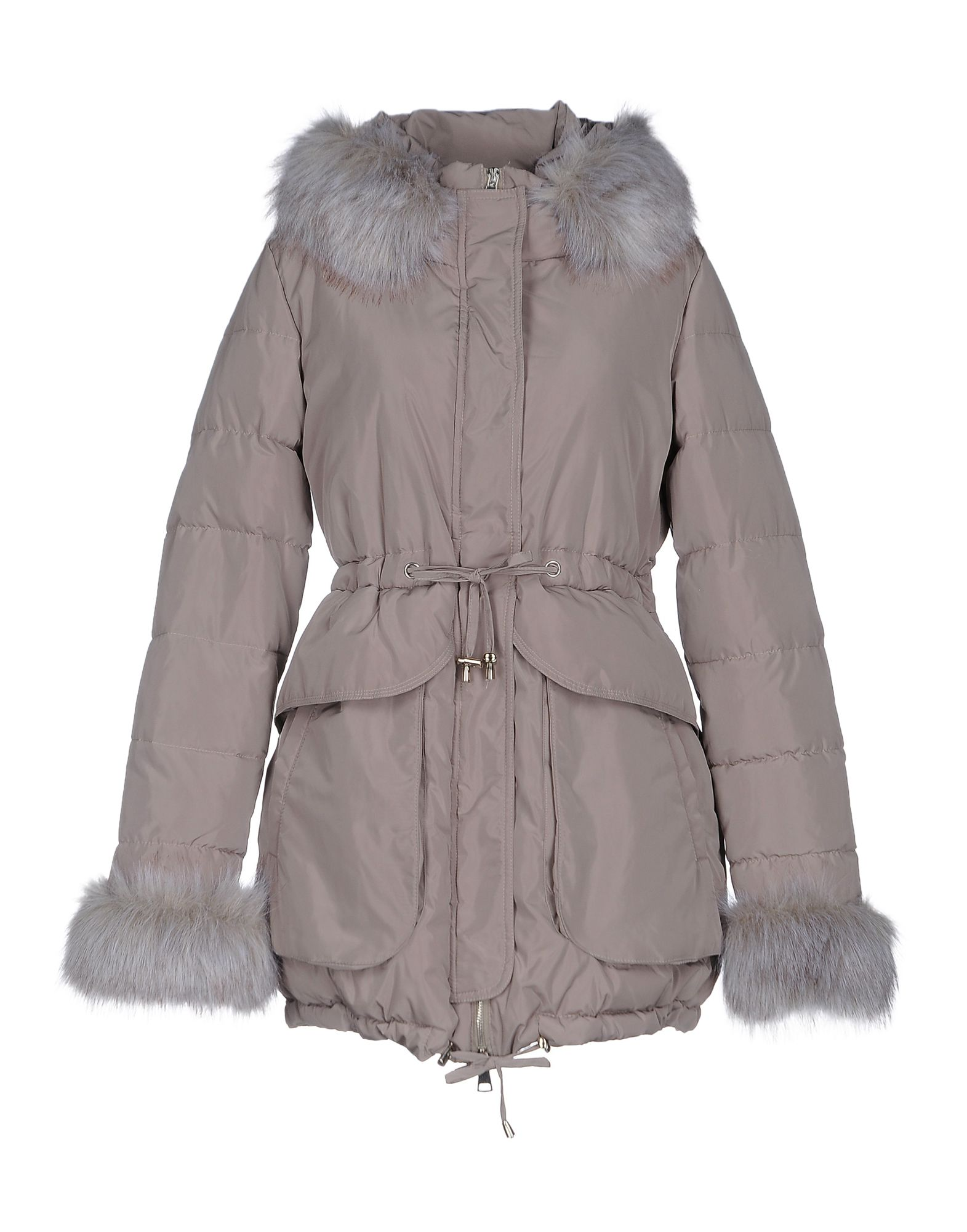 ANDREA MORANDO Damen Jacke Farbe Hellgrau Größe 5 - broschei