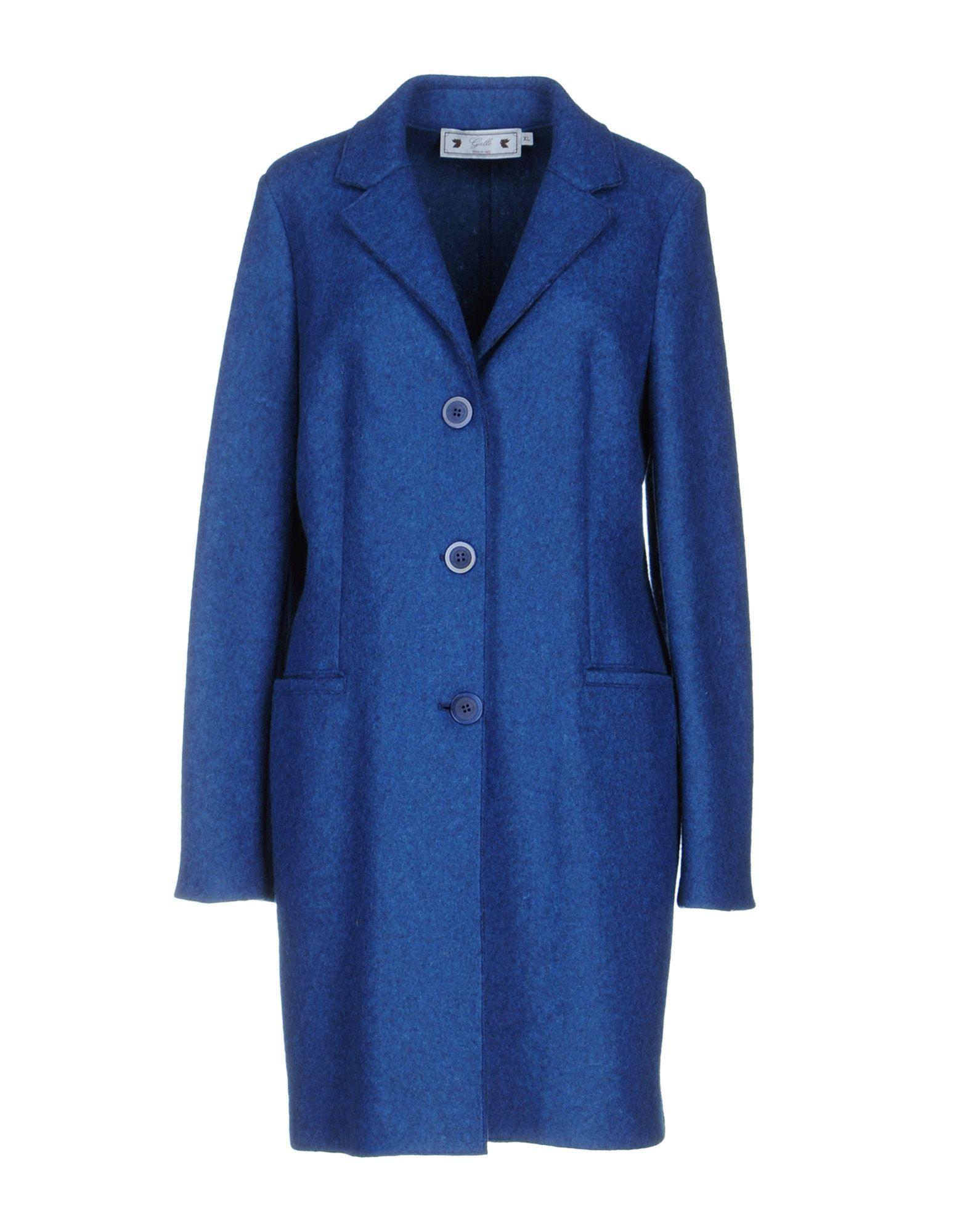 GALLO Damen Mantel Farbe Blau Größe 7 - broschei