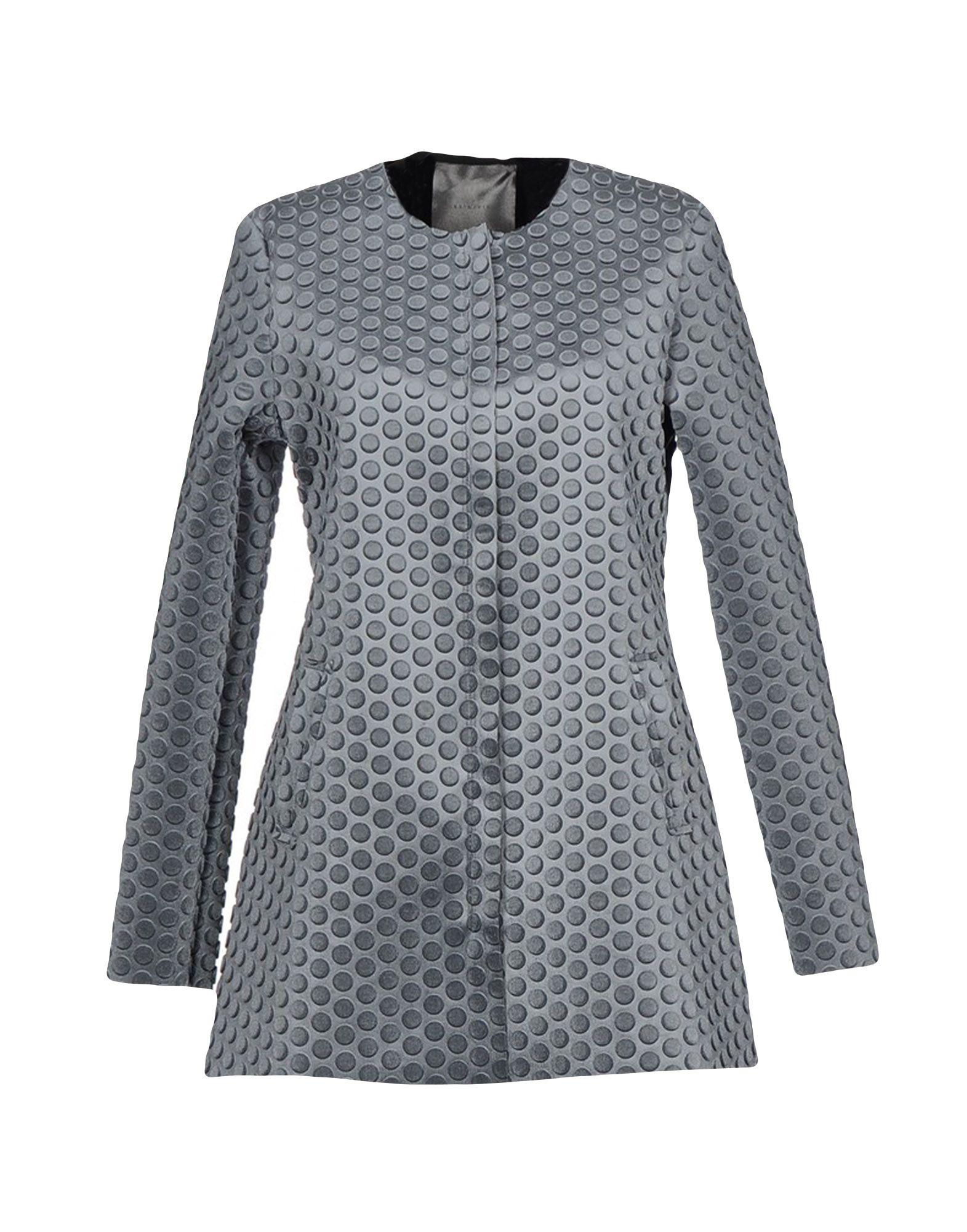 ES´GIVIEN Damen Lange Jacke Farbe Grau Größe 6 jetztbilligerkaufen
