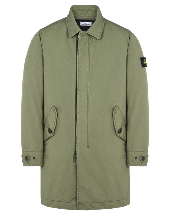 STONE ISLAND LONG JACKET 70749 DAVID-TC WITH PRIMALOFT® INSULATION TECHNOLOGY
