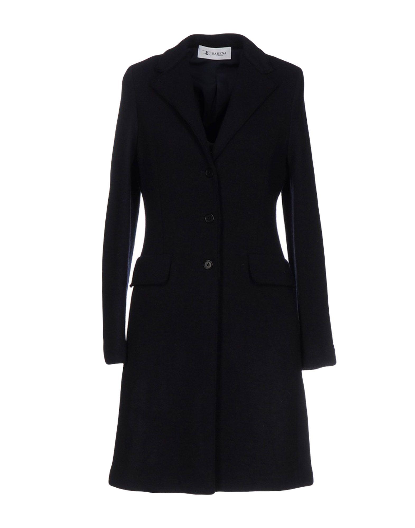 BARENA Damen Lange Jacke Farbe Dunkelblau Größe 5 jetztbilligerkaufen