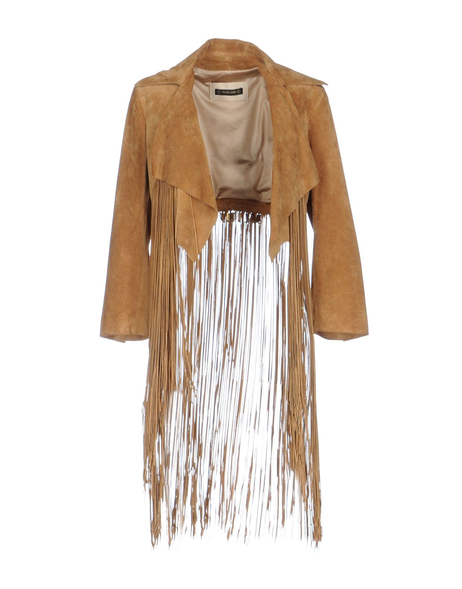 PLEIN SUD PAR FAYҪAL AMOR Damen Jackett Farbe Kamel Größe 6 - broschei